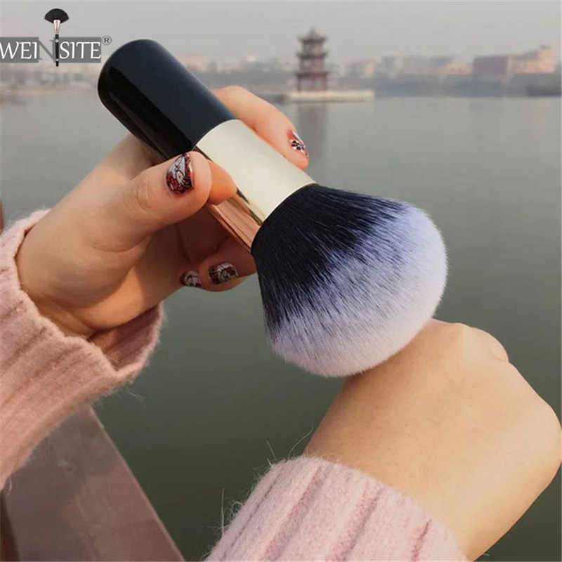 Big Size Make-Up Kwasten Foundation Poeder Gezicht Borstel Set Zachte Gezicht Blush Borstel Professionele Grote Cosmetica Make Up Tools