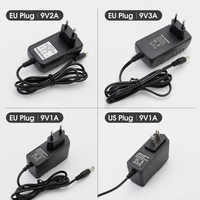 AC DC Adapter 9V 1A 2A 3A Power Supply Adapter Universel transformer electric DC 9 V Volte Power Supply Adapter for Led Lamp