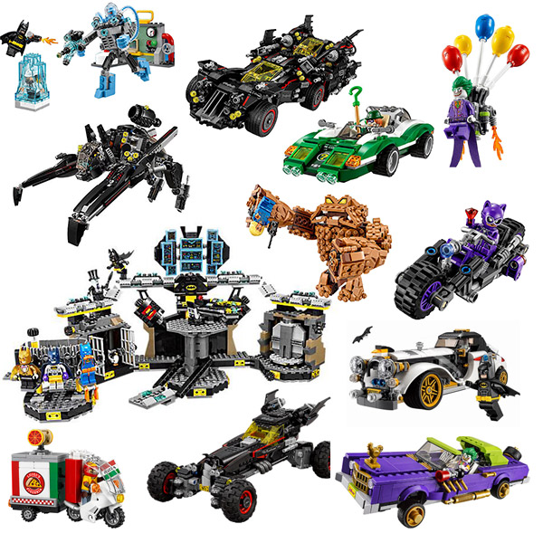 Batman Series Batsub And The Underwater Clash Building Blocks Toys Bricks Gift For Children Super Hero 76116 76117 76115 76114