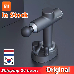 Электрический массажер для тела Xiaomi Meavon 3200r/min, умный двойной режим, модный пистолет, силиконовая головка, глубокий массаж для домашнего трен...