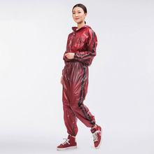 Men Sports Suit Rain coat  Running Raincoat Female Loose Hooded Student SuitLargeSize Set Lightweight 7R22
