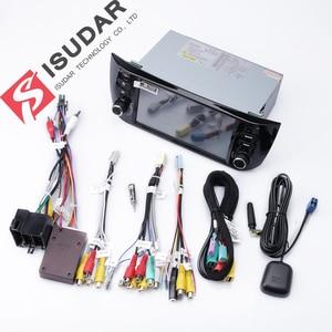 Image 5 - Isudar samochodowy odtwarzacz multimedialny 1 Din Android 9 dla Fiat/Linea/Punto 2012 2015 GPS DVD Automotivo Radio FM czterordzeniowy DSP USB DVR