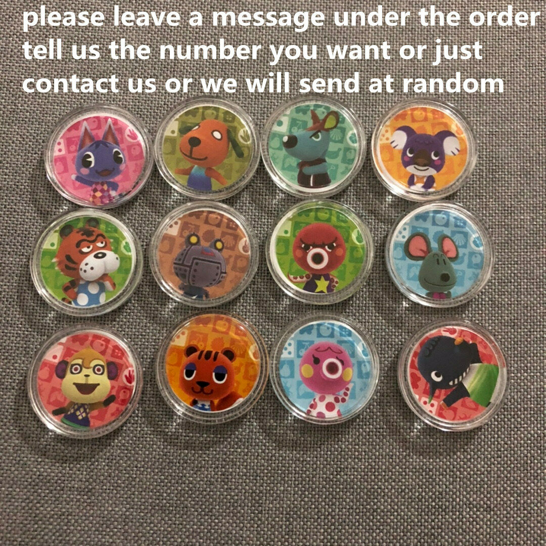 Animal Crossing Series 1-4 Amiibo Cards Pick And Choose (#001-400)  12pcs