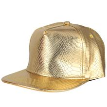 Vogue PU Leather Baseball Caps Solid Golden Hip Hop Hats Men Women Gorras Adjustable Rap Snapback Hat Casquettes Sun Cap стоимость