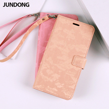 Flip Phone Case PU Matte texture Leather buckle For OnePlus 6  6T 7 Pro