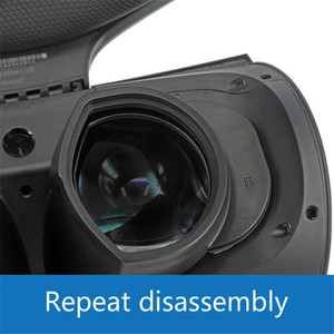 Image 3 - 1Pair ABS Eyeglass Frame For Sony Ps4 PS VR Headset Lens Protection Frame Quick Disassemble without Lens VR glasses Accessories