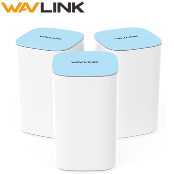 Wavlink Gigabit Wifi mesh Router Whole Home Mesh System Wireless WiFi Router 2.4G/5.0GHz High Speed WIFI Repeater Easy Setup totolink t10 whole home mesh network wireless ac1200 dual band office wi fi router high speed mesh system wireless wifi repeater