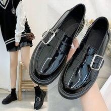Новинка японские маленькие туфли милые мягкие мэри джейн с юбкой