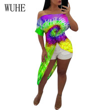 WUHE High Quality Sexy Off Shoulder Irregular Retro Dresses Summer Elegant Vintage Short Sleeve Hollow Out Dress Plus Size 3XL