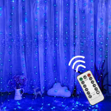 300 LED 8 Modi Fernbedienung fee String Lichter Weihnachten 5V USB led Hochzeit Party Fairy Lichter garland Vorhang garten Decor(China)