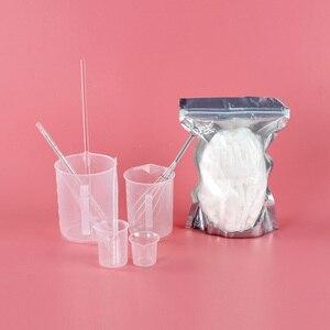 Image 5 - 新しい石鹸作るキット3種類シリコーン型500グラムの石鹸ベースとより多く石鹸作る用品