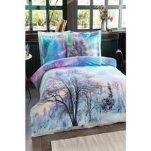Christmas Special Both Pesonality Duvet cover set 4 Pillow Sheathed Northern Lights