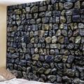 Винтажные каменные стены гобелен  настенные картины ковер новый гобелен с пейзажем настенный гобелен поставка гостиной ванной комнаты дек...