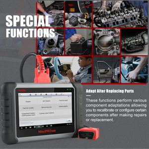 Image 2 - 2021のautel maxipro MP808K OBD2自動診断スキャンツールepb abs自動車スキャナリセットサービスより良いDS808 MP808