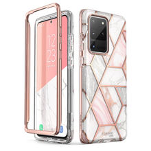 For Samsung Galaxy S20 Ultra 5G Case i-Blason Cosmo Full-Body Glitter Marble Bumper Cover Case WITHOUT Built-in Screen Protector(China)