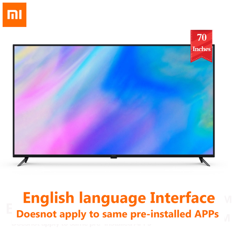 Xiaomi Redmi Smart TV R70A 70 Inches 4K HDR Resolution Office Home Theater Television 2GB 16GB Support Dolby Audio|Smart TV|   - AliExpress