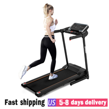 2020 Indoor Treadmill Electric Treadmill Motorized Running Machine Multi-function Fitness Equipment for Home Lose Weight
