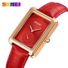 Часы наручные skmei женские кварцевые водонепроницаемые брендовые