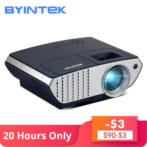 119$ Clearance Sale BYINTEK BL126 HDMI LCD Home Theater HD Video Portable LED Projector Pakistan