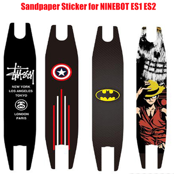 Anti-slip Pedal Footboard Tape Sandpaper Sticker for ninebot es2 es1 Electric scooter Skateboard Protective Skate Stickers