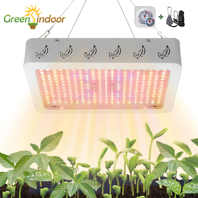 Greensindoor Phyto Lamp 1000W 2000W LED Grow Light Full Spectrum Lamp For Plants Grow Tent Lamp With Daisy Chain Led Fitolampy