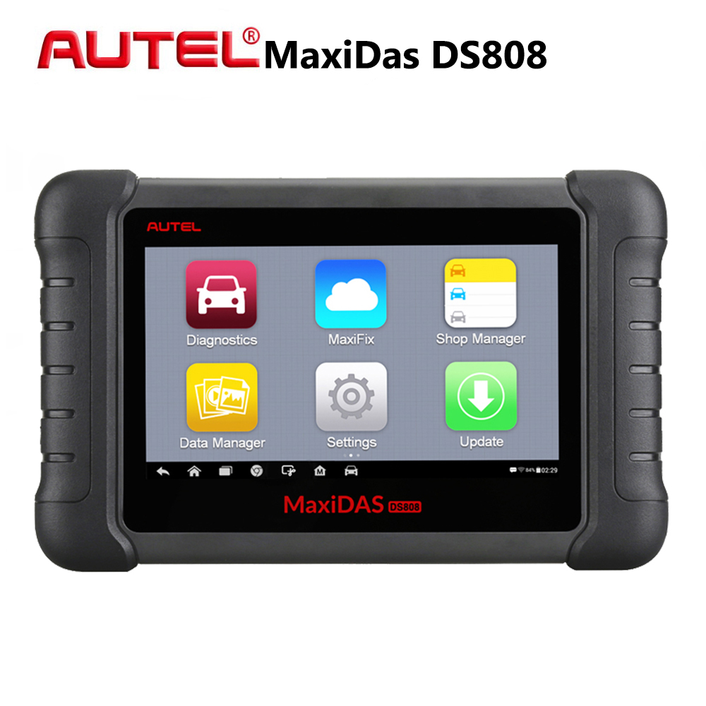 Automotive Scan Tool >> Us 752 18 17 Off Autel Maxidas Ds808 All System Car Diagnostic Tool Automotive Diagnostic Scanner Professional Universal Auto Scan Tools Pk Ms906 In