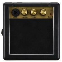 цена на Portable Mini Guitar Bass Amplifier Guitarra AMP 5W Speaker Clip-On Guitar Parts Accessories for Acoustic Electric Guitar PG-3