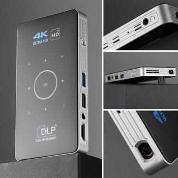 ALSTON C6 Mini DLP Projektor 4K Android 9.0 1
