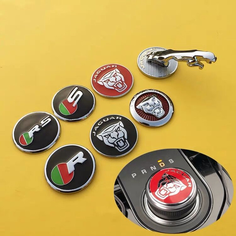 Sticker Knob-Decoration Interior-Cover XFL Car-Styling-Accessories Shift F-PACE Car-Gear title=