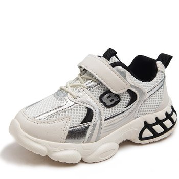 Fashion Girls Shoes Boys Sneakers Children Sports Casual Shoes Kids Sneakers Air Mesh Breathable Comfortable Soft Running Shoes недорого