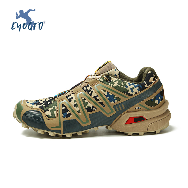 Brand Sports Shoes Hiking Shoes Men Outdoor High Quality Hiking Shoes Travel Camping Sports Hunting Shoes Zapatos De Senderismo