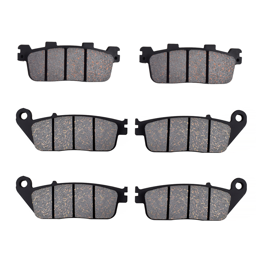 For KYMCO Xciting 300i T72000 EFI Model 2008 Motorcycle Front Rear Brake Pads Brake Disks image
