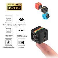 Портативный SQ11 HD 1080 P автомобиля Главная CMOS Сенсор Ночное видение видеокамера мини Камера s Камера видеорегистратор DV движения Регистраторы...
