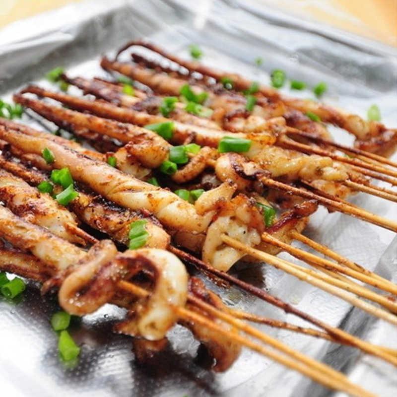 ไม้ไผ่ไม้ BBQ Kebab ผลไม้ช็อกโกแลต Fountain Stick Party บุฟเฟ่ต์อาหารทิ้งลูกชิ้นแบน Paddle Picks ย่าง