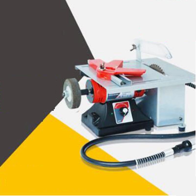 Многофункциональная машина для нарезания резьбы деревообрабатывающий станок резьба электрическая шлифовальная машина Настольная пила