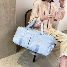 New Nylon Waterproof Travel Bag Fitness Gym Yoga Bags For Women Fashion Travel Duffel Bag Large capacity Shoulder Bag Handbags