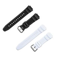 лучшая цена Watchband Wrist Strap Band Soft Slicone Adjustable Replacement AQ-S810W Sports Watch