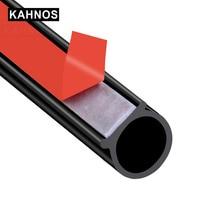 Car Door Rubber Seal EPDM rubber Weatherstrip Big D Type Waterproof Noise Sound Insulation auto seal Anti Dust Soundproof