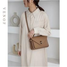 VENOF Luxury Handbags Women Bags Designer Split Leather Mess