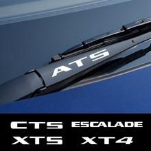 Autocollants en vinyle réfléchissant pour essuie-glace de voiture, 4 pièces, autocollants pour Cadillac ATS cds Escalade XTS XT4 XT5 CT6, accessoires de voiture