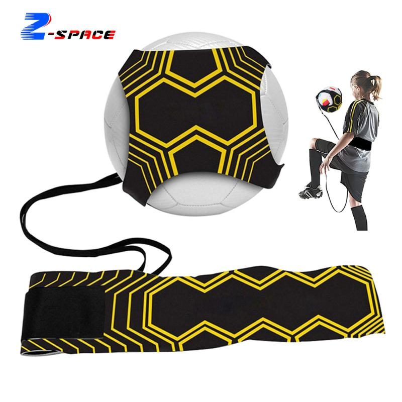 Football Self Training Waistband Kick Exercise Adjustable Soccer Coach Assistive Equipment Belt Return Device Ball Skill Improve