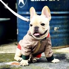 Sprint jesień pies ubrania dla małych psów ubrania dla zwierząt kurtka dla szczeniaka dla buldoga francuskiego Dropshipping PC1041