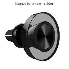 Universal Magnetic car phone holder air outlet metal magnetic instrume