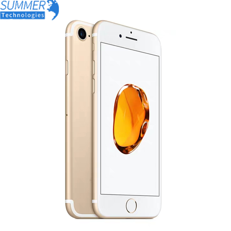 Original Apple IPhone 7 Unlocked 4G LTE Ram 2G Rom 32/128/256GB IOS 12.0MP Camera Quad-Core Fingerprint 4.7'' Smartphone