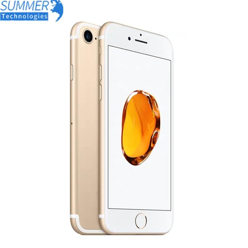 Original Apple IPhone 7 Unlocked 4G LTE Ram 2G Rom 32/128/256GB IOS 12.0MP Camera Quad-Core Fingerprint 4.7'' Smartphone