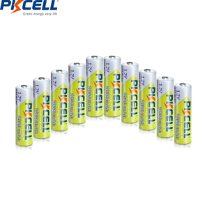 Image 2 - 20pcs PKCELL AAA 배터리 1000mAh 3A 니켈 수소 AAA 충전식 배터리 배터리 1.2V NIMH Baterias 카메라 손전등 완구
