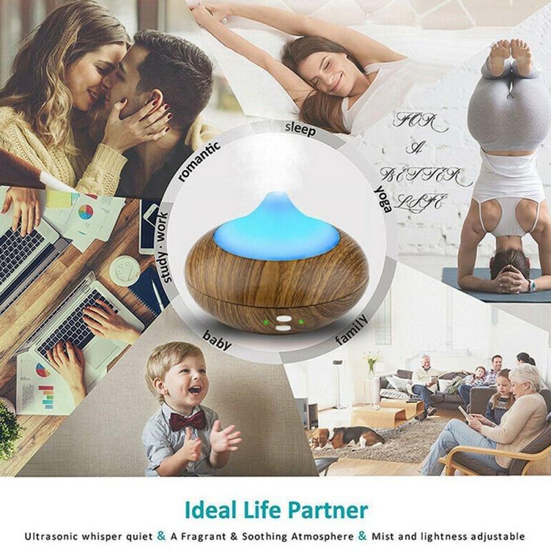 Usb óleo essencial lâmpada fragrância silencioso aromaterapia