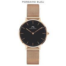 Porsamo Bleu brand popular women's Japanese quartz movement women's watch with Daniel Wellington