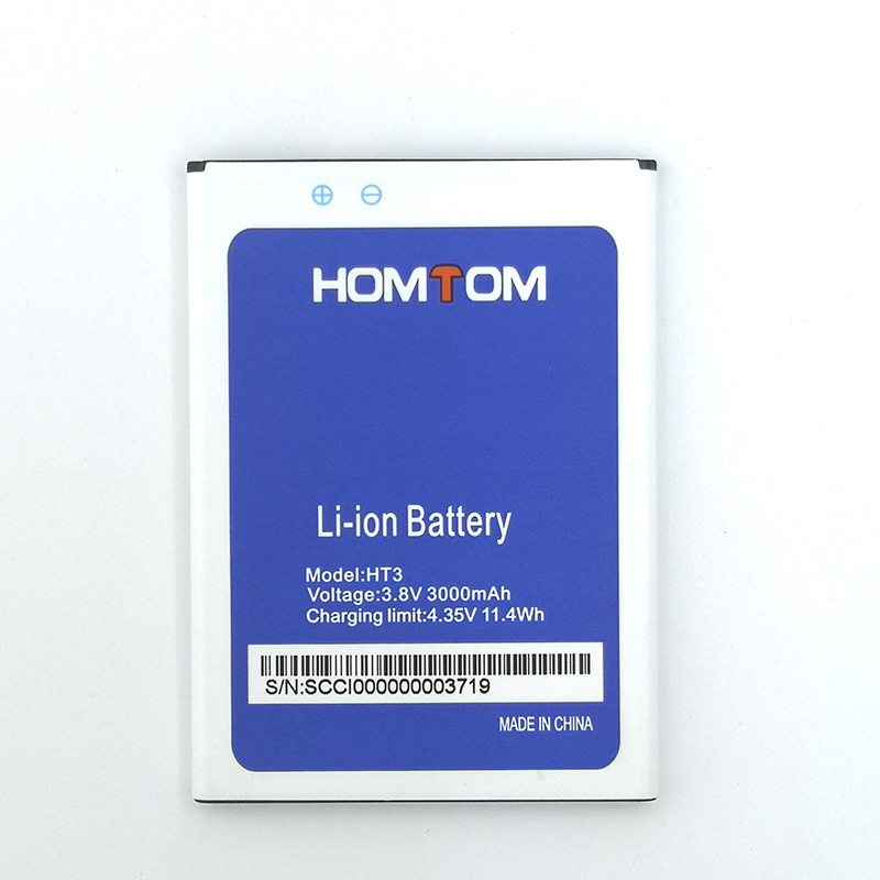 New In Stock High Quality Battery For HOMTOM HT3/ht3 PRO Moble Phone+Tracking Number(China)