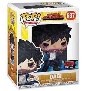Оригинальные виниловые куклы Funko pop Dabi My Hero Академия #637 ограниченный выпуск, фигурки, модели Аниме, игрушки для детей, подарки, Новинка